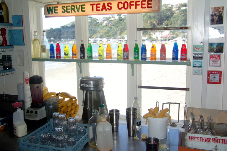 Maranui Cafe, Lyall Bay, Wellington