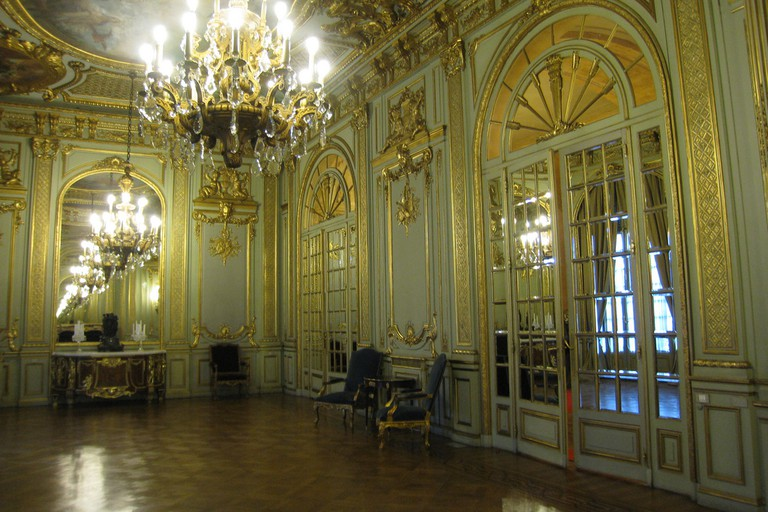 The grand interior of the Palacio San Martin, Buenos Aires