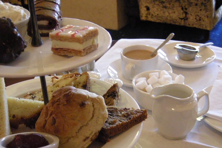 Afternoon tea at The Gresham Hotel