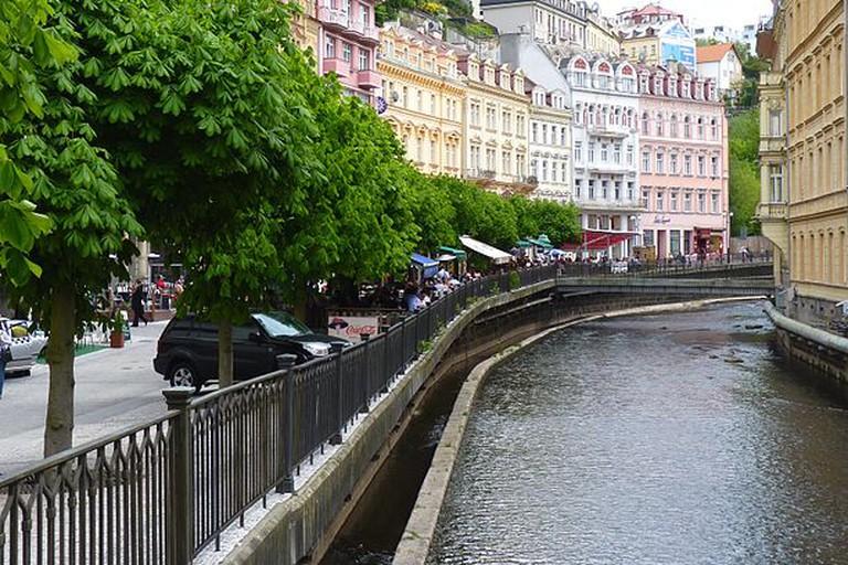 Downtown Karlovy Vary /