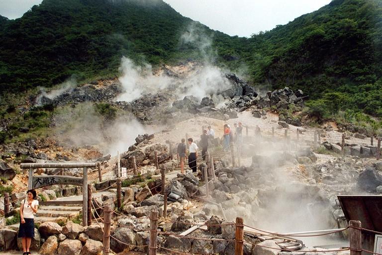 Hakone, hot springs |©Arian Zwegers / Flickr