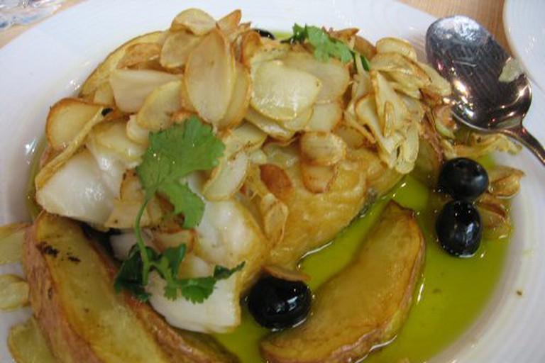 Bacalao Macanese Dish