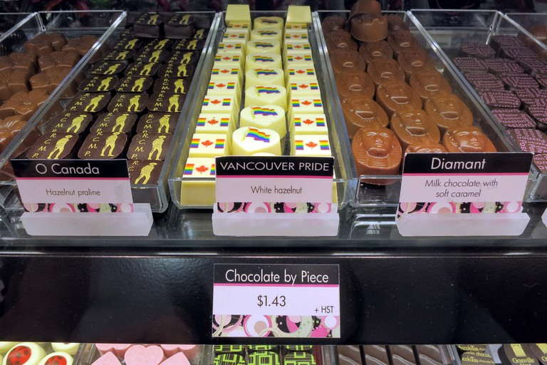Chocolatas' selection