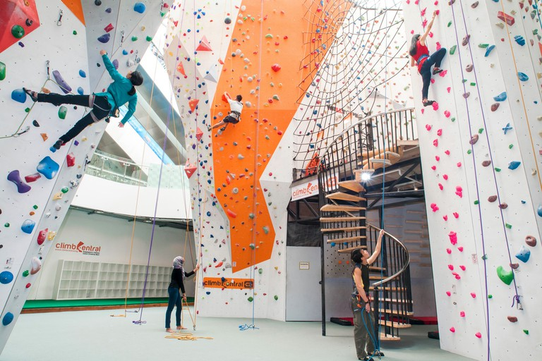 Tallest indoor climbing centre in Singapore