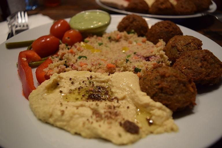 ZATAR falafel & hummus, Vilnius