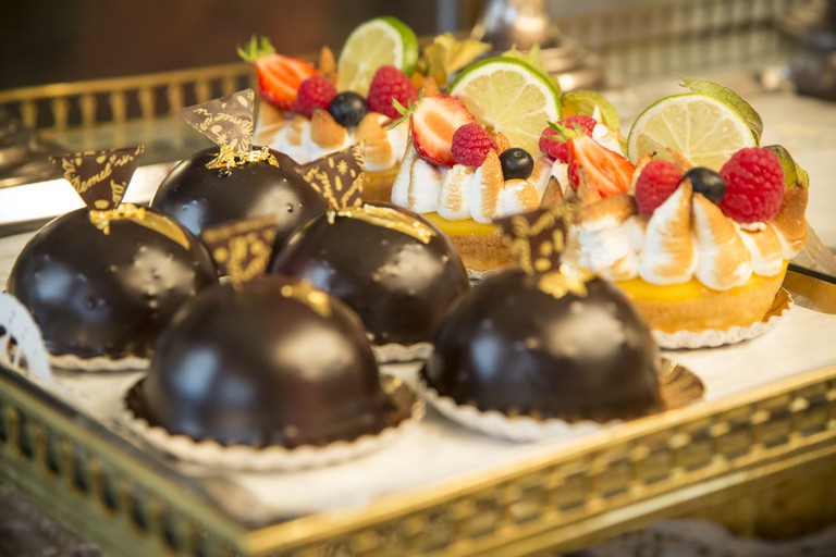 The dainty delectable desserts of Demel