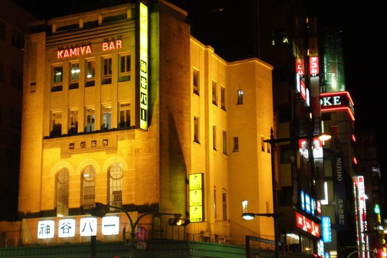 Kamiya Bar at Asakusa