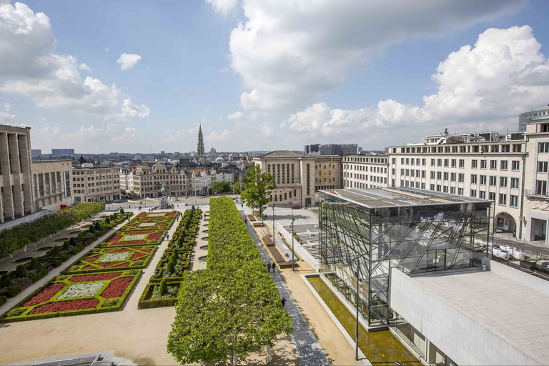 Mont des Arts is home to a number of prestigious museums