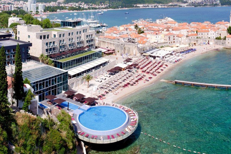 Avala Hotel on the beautiful shores of Montenegro