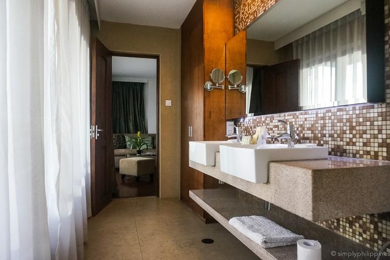 Bathroom at Cocoon Boutique Hotel