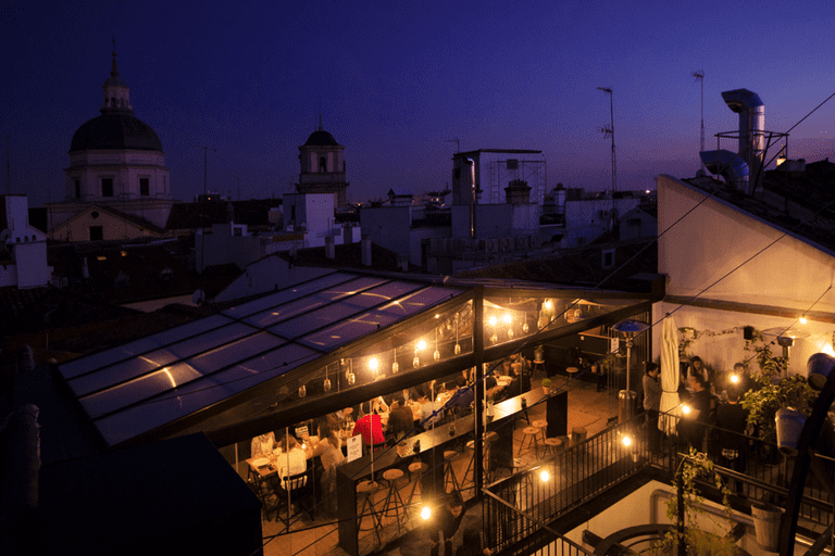 The Hat rooftop offers sunset views