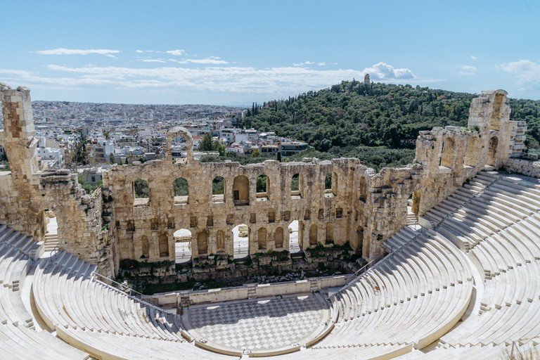 ODEON OF HERODES ATTICUS-ATHENS-GREECE