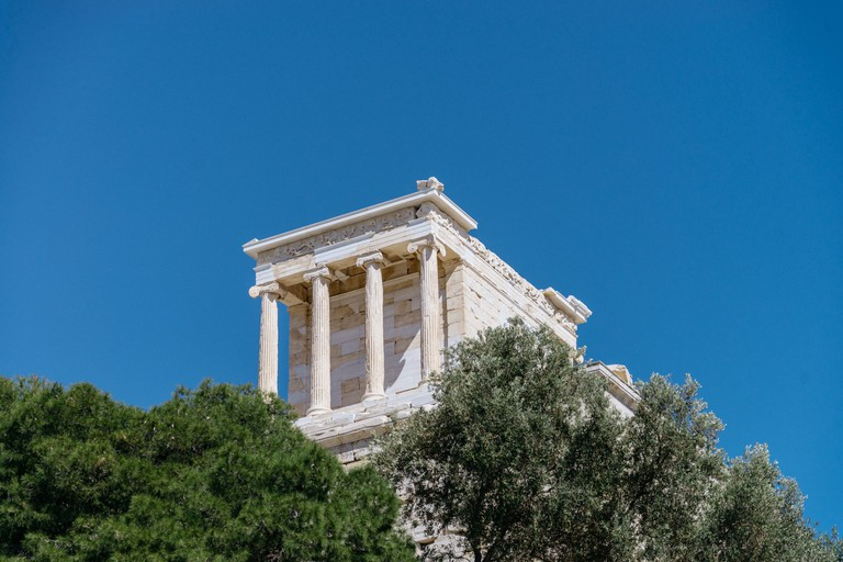 The Temple of Athena Nike was designed by Callicrates and built in 420 BC