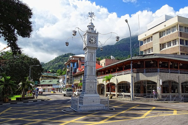 Victoria Clock Tower. Seychelles