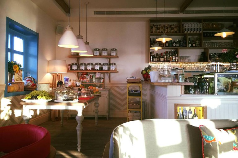 The Liberty Breakfast Room, Mikonos