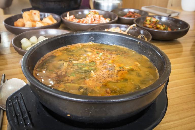 Chueotang, mudfish stew