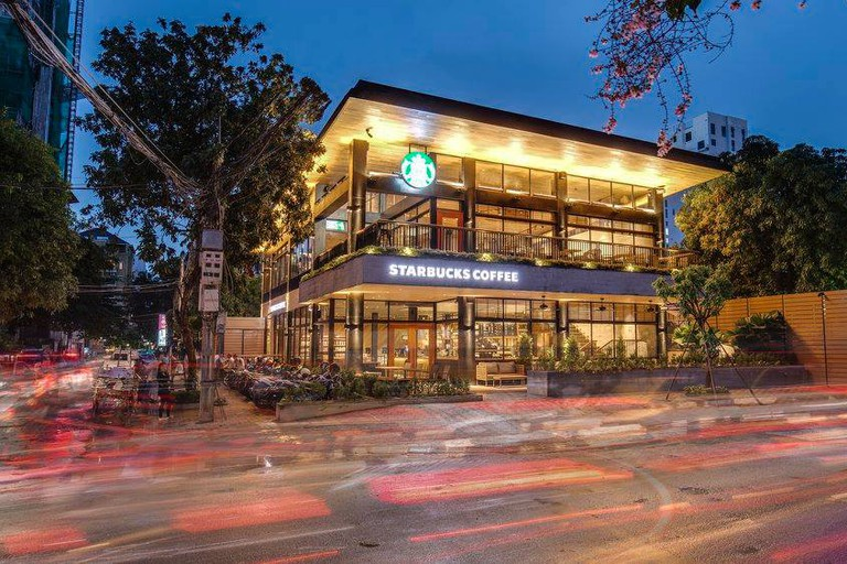 Starbucks in Phnom Penh