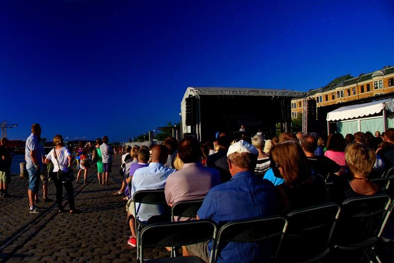 Copenhagen Jazz Festival at Islands Brygge