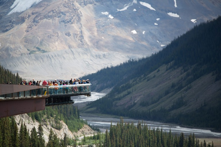 Glacier Skywalk in Jasper National Park