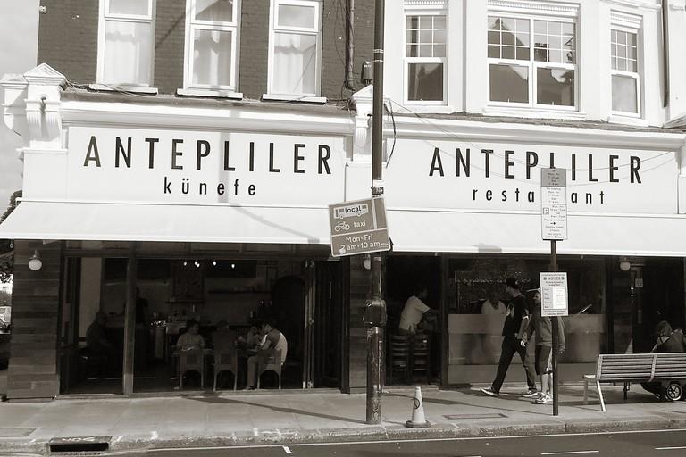 The outside of Antepliler