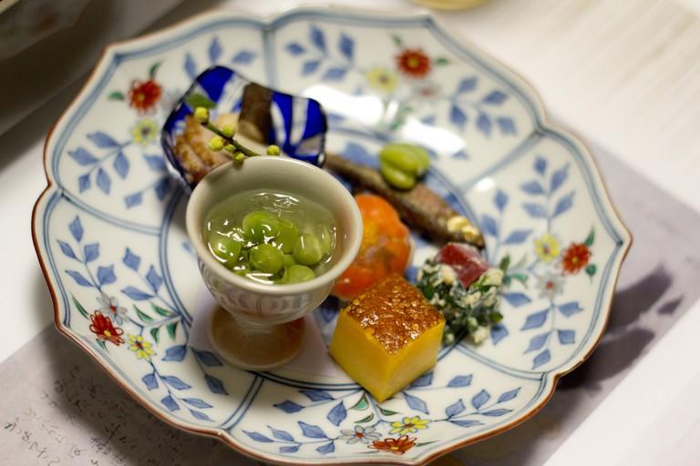 Kaiseki appetizer