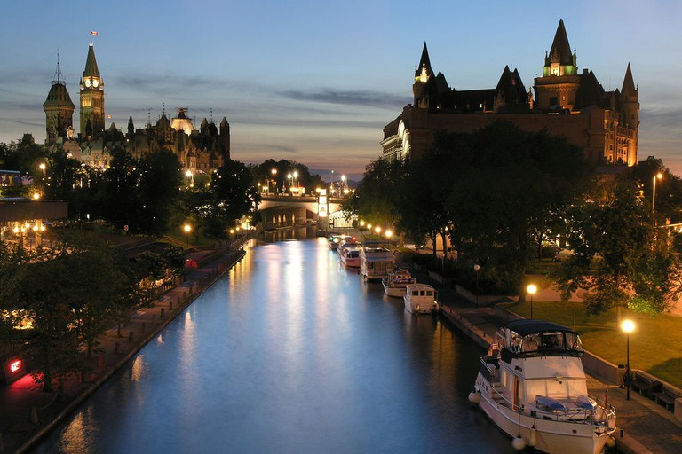 Rideau Canal at Night