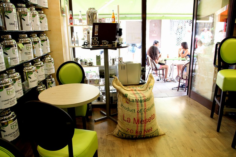 The Itineraire cafe in Cannes is a coffee lover's haven   © Bex Walton / Flickr