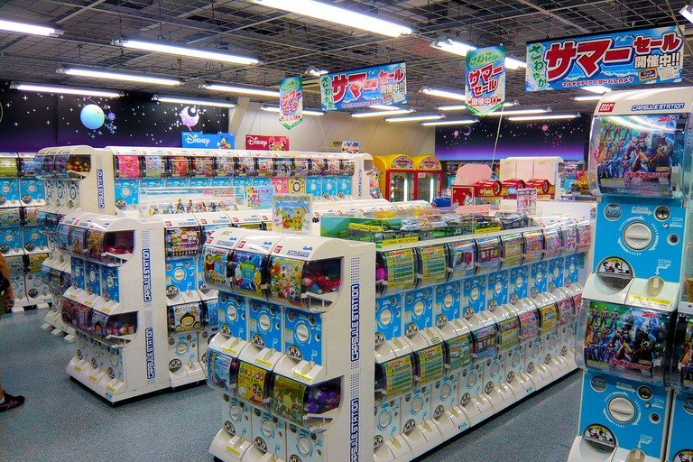 Gachapon machines | © DocChewbacca / Flickr
