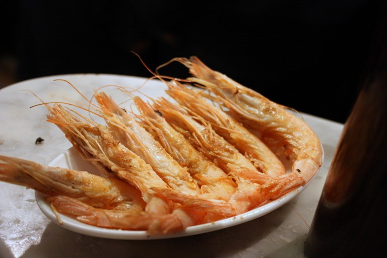 Make sure to order the prawns at Casa del Abuelo