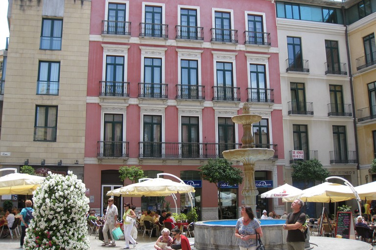 Bodega Malagueno is situated on the beautiful Plaza Obispo