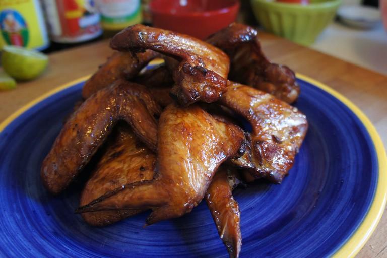Wong Ah Wah Smoked BBQ Wings