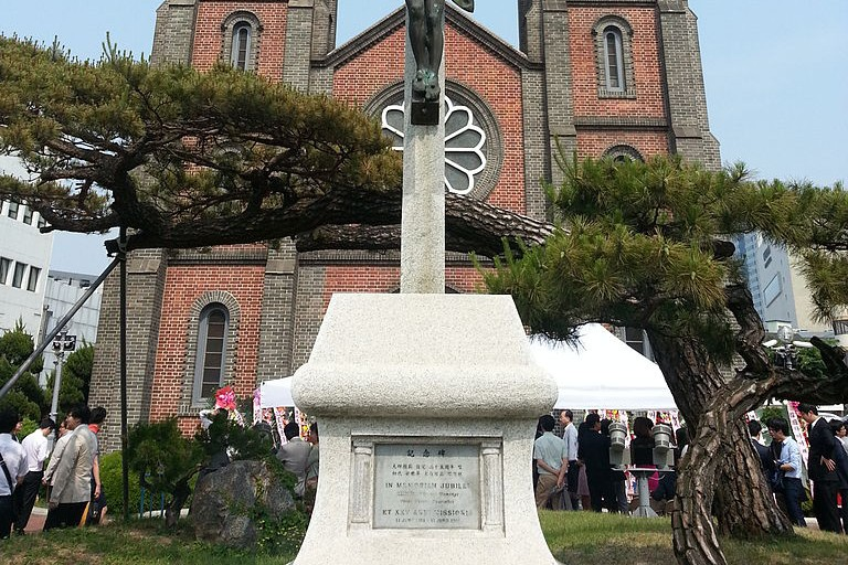 Gyesan Catholic Church in Daegu