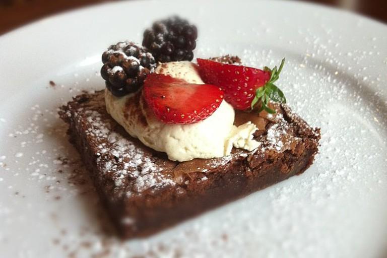 Dessert at Palmers