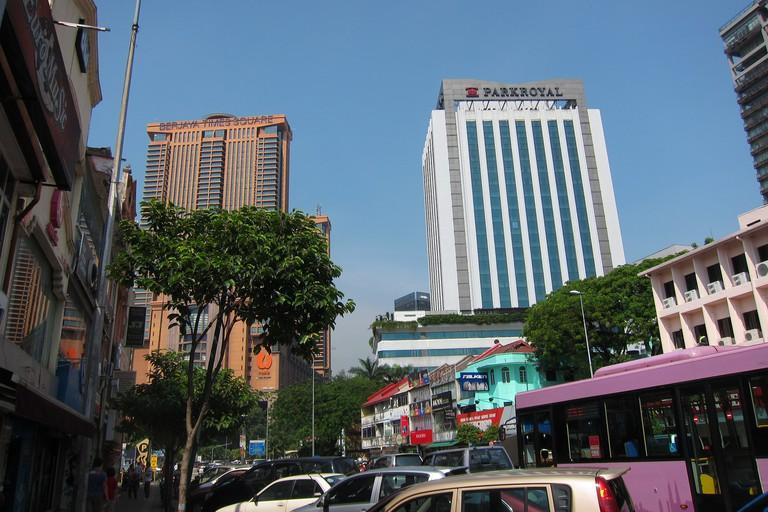 Parkroyal Kuala Lumpur - close to food :p