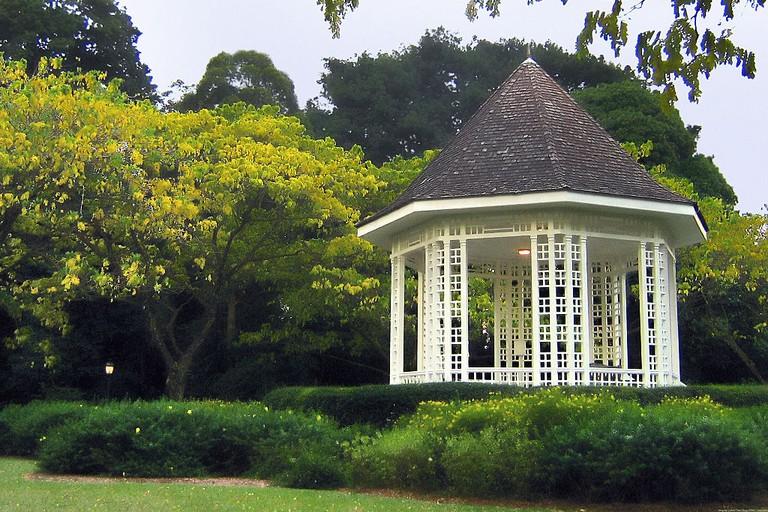 Bandstand at the Singapore Botanic Gardens