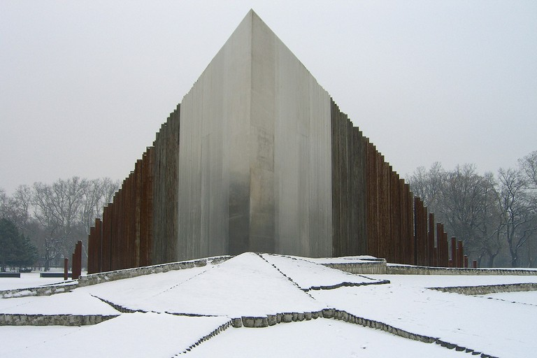 Monument to the 1956 Revolution, City Park, Budapest, Hungary