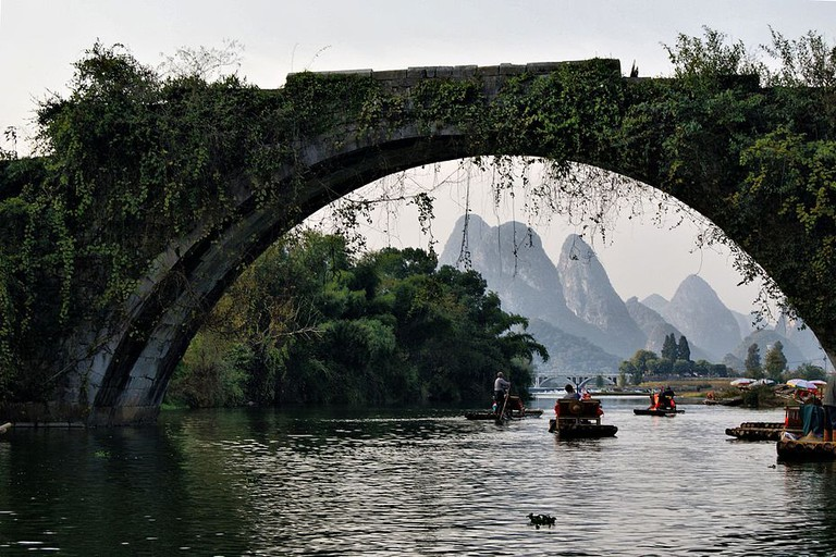 Dragon Bridge - Yulong River Guilin