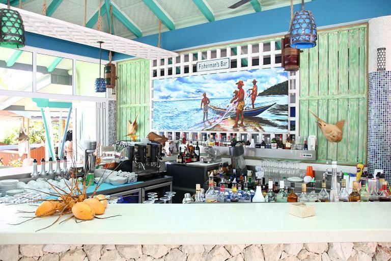 Fishtrap restaurant La Digue