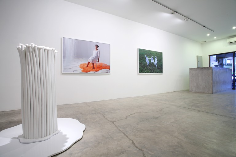 An exhibition in Galerie Quynh