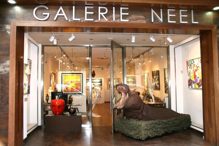 The Galerie Neel, Cannes | © Courtesy of Galerie Neel