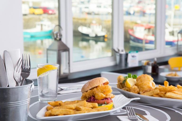 Harbour Lights Restaurant, Falmouth