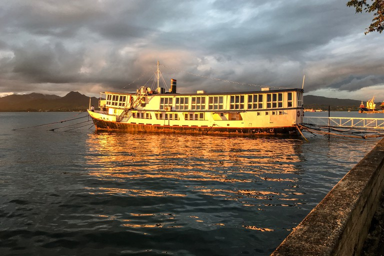 Tiko's floating seafood restaurant, Suva