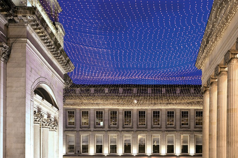 Royal Exchange Square In Glasgow