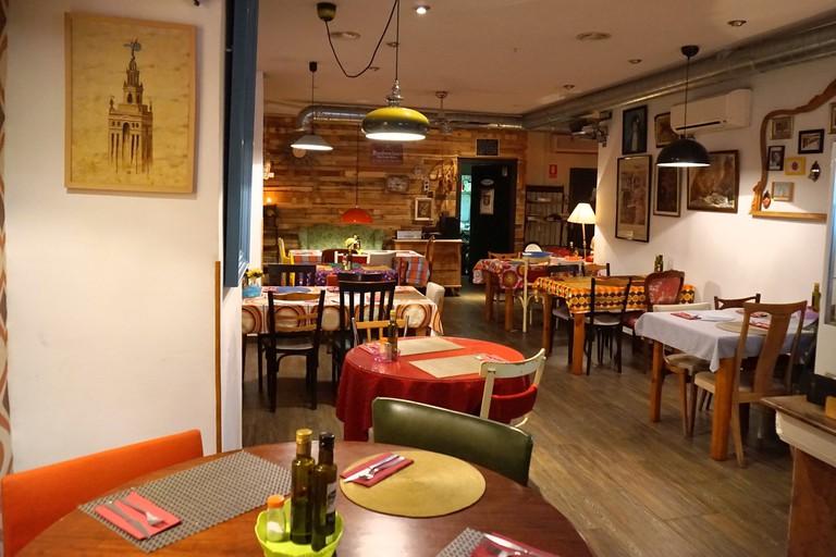 Restaurant Papaupa, Granada
