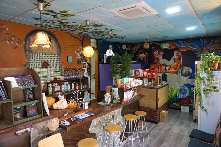 Hicuri Art restaurant, Granada