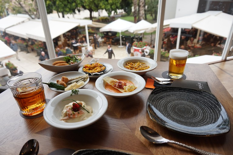 Traditional tapas cooked with modern flair at El Pimpi
