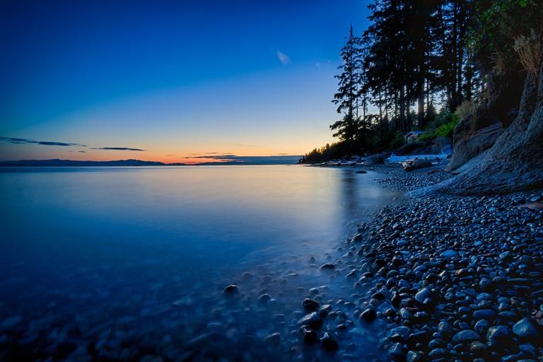 Twilight at Roberts Creek