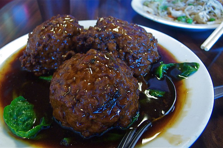 Lion's Head Meatballs
