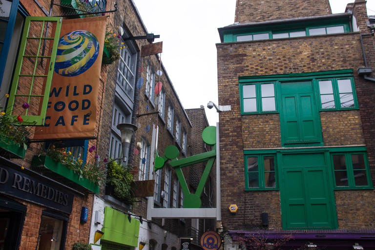 Wild Food Cafe, Neal's Yard