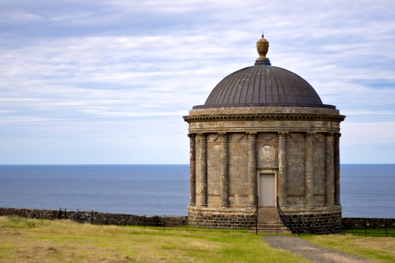 Mussenden Temple and coast